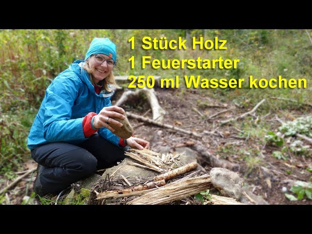 Waldhandwerk One Stick Fire Challenge