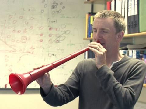 How can you filter out the vuvuzela?