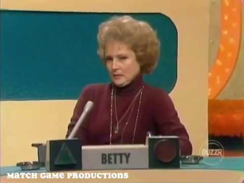 Match Game 74 (Episode 132) (Houndstooth by Johnny Olsen) (With Slate)