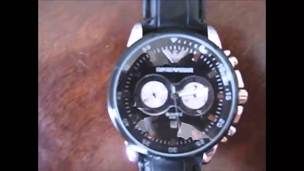 0e1eb259479 Relógio Emporio Armani - YouTube
