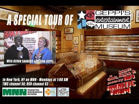 """Fantastic Forum Episode #27 - SPECIAL """"Geppi's Entertainment Museum"""""""