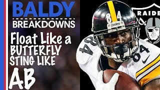 How Will Antonio Brown be Utilized in the Raiders Offense? | Baldy Breakdowns