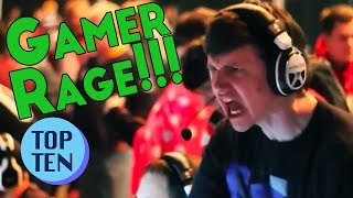 Top 10 Gamer Rage Freakouts of All Time