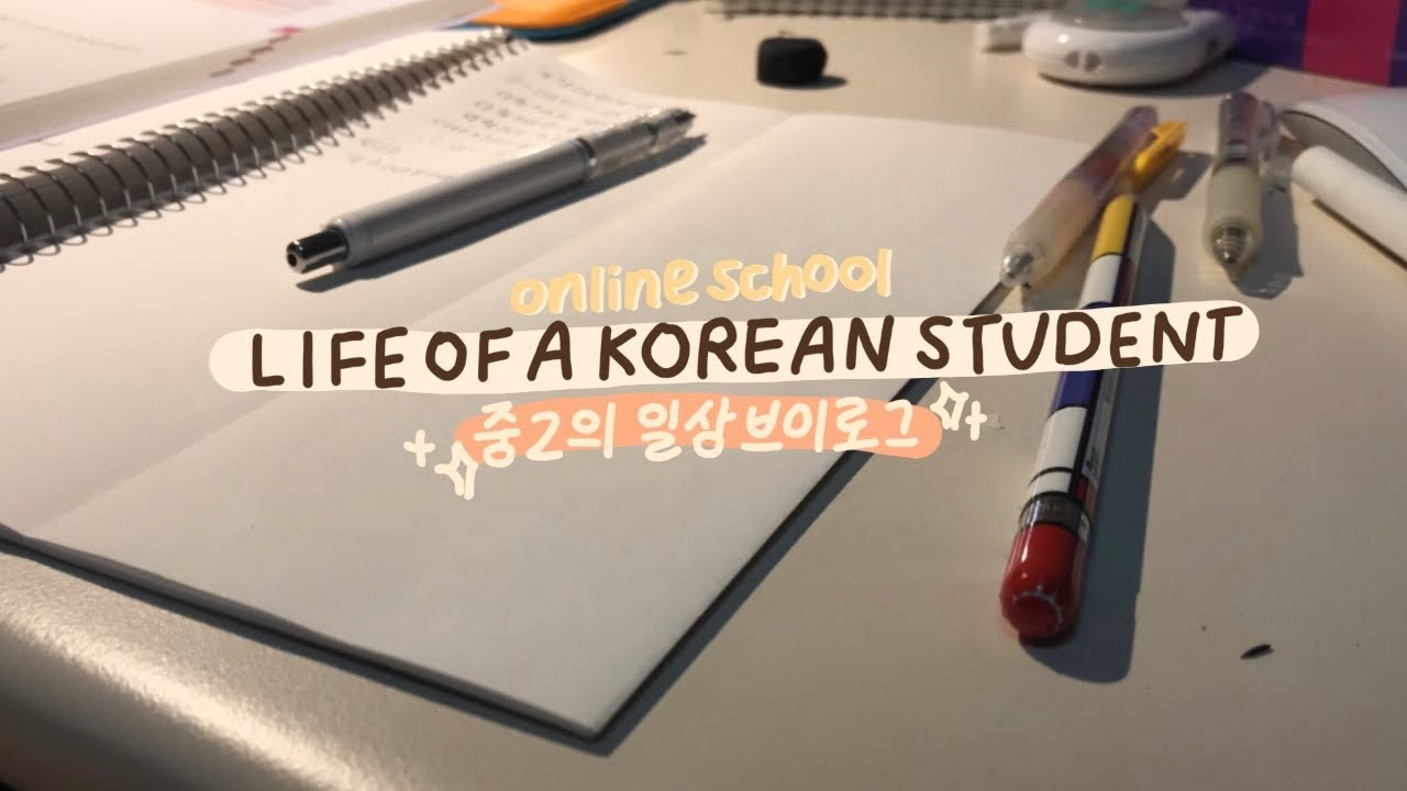 Life of a Korean Student with Online School ✨☀️ (+ A Gift to Myself 🎁)