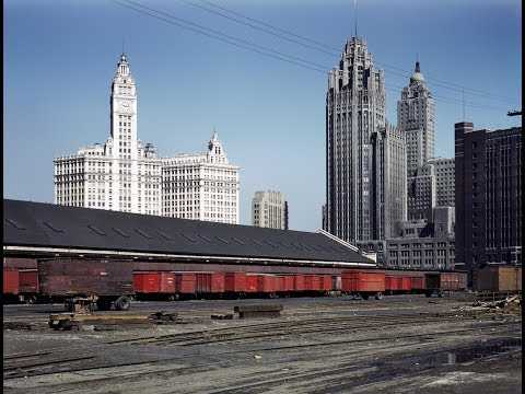 USA  BUILDINGS IN 20th CENTURY PHOTO COMPILATION