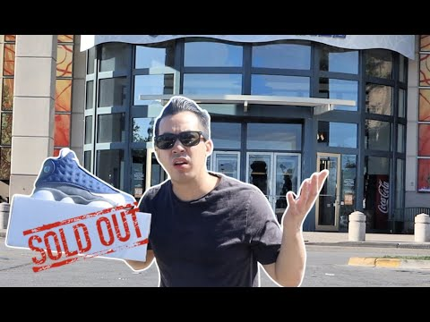 HARD TO COP SOLDOUT !!! JORDAN 13 FLINT VLOG | THEY LOOTING THE MALL !! OMG