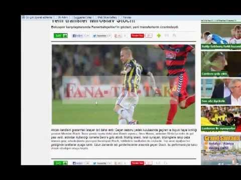 FANA-TİK-TAK Böyle Spor Haberi mi Sunulur LAN !! Fenerbahçe Versiyon