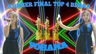 YOHANA    KONSER FINAL TOP 4 ll BINTANG DANGDUT ONLINE I