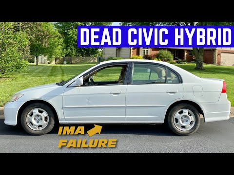 I BOUGHT A CHEAP Honda Civic HYBRID With A DEAD BATTERY