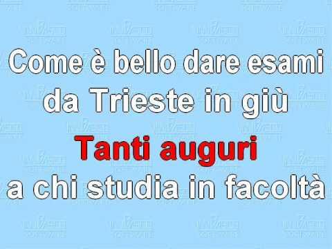 Bien connu Tanti Auguri (a chi tanti esami dà) - YouTube TV48