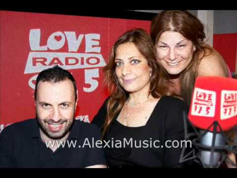 "Alexia Vassiliou - Radio Interview ""Love Radio"" 92.5FM Athens 2011"
