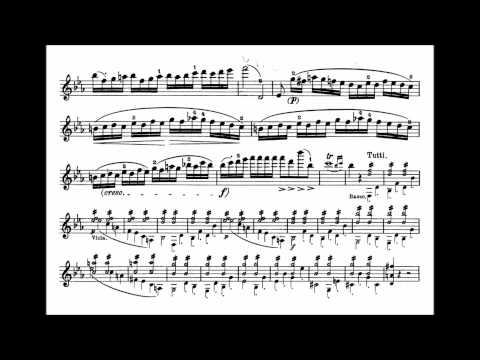 Mozart, Wolfgang A. mvt1 6th violin concerto KV 268