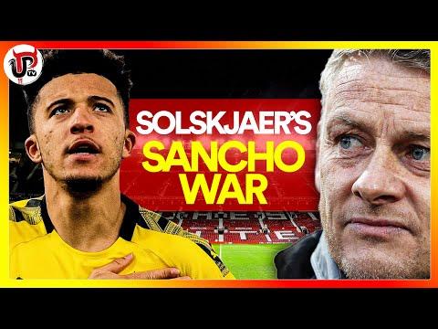 SOLSKJAER'S SANCHO WAR WITH WOODWARD: FIX IT!