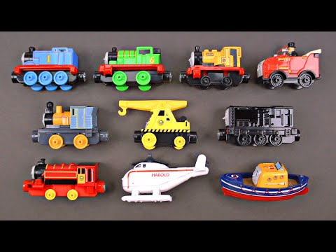 Thomas and Friends Trains for Kids - Thomas' Favorite Friends Toy Trains Vehicles - Organic Learning