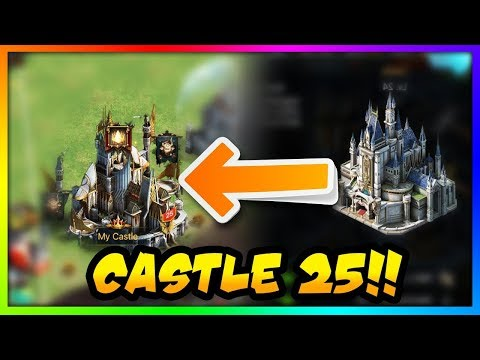 CASTLE 25 COMPLETE - CAN WE STEAL CASTLE 26 RESOURCES FROM TVN - Rise Of The Kings