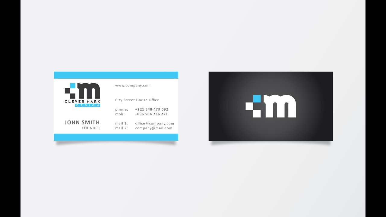 How To Create Business Card Print Ready In Adobe Illustrator Cs5 Hd1080p