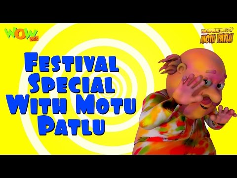 Festival Special - Motu Patlu Compilation...