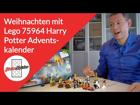 Review: Der wunderbare Lego Harry Potter Adventskalender  (75964)