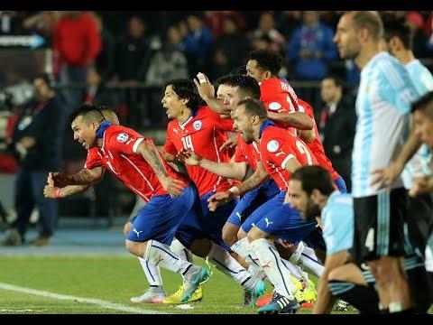 Chile 0 (4) vs 0 (1) Argentina | Penales | Final Copa América 2015