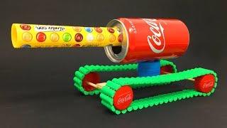 Como Hacer un Tanque Radio Control de Coca Cola
