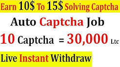 New Auto Captcha Solving Website | Captcha Earn Money | High Paying Captcha Job | In 2020