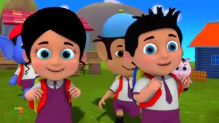 School Chale Ham   Hindi Rhymes for Kids   स्कूल चले हम   Hindi Nursery Rhymes   Baby Songs Hindi
