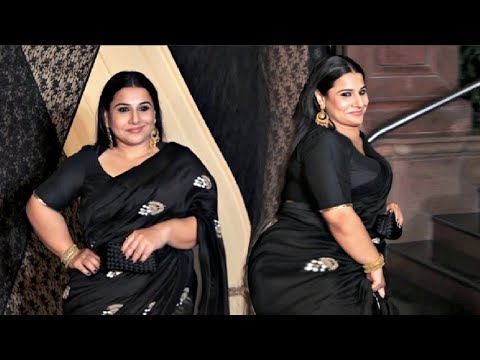 Vidya Balan Unbelievable Weight Gain At Mukesh Bhatt Daughter Wedding