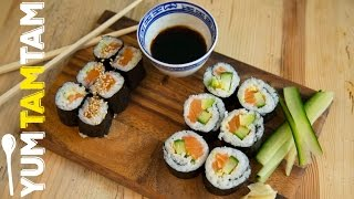 Sushi // Cook it, roll it, eat it! // #yumtamtam