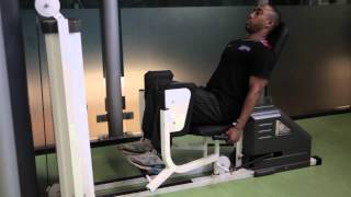Seated hip abduction - Bloomsbury Fitness Exercise Videos