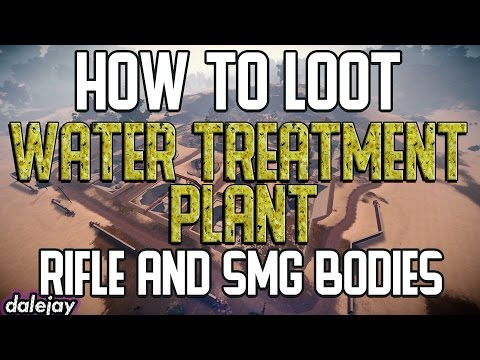 How to Get Rifle Bodies from the Water Treatment Plant   RUST