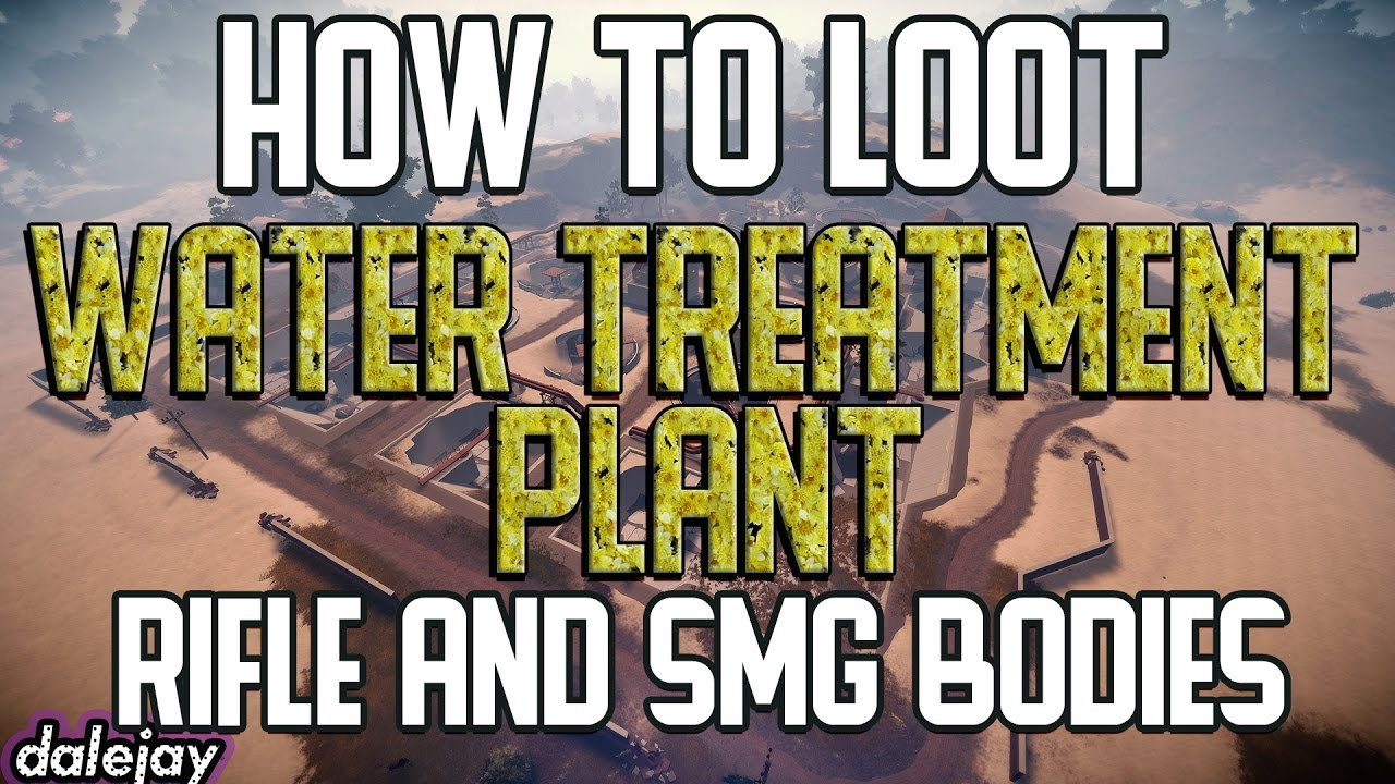 How To Get Rifle Bodies From The Water Treatment Plant Rust Youtube