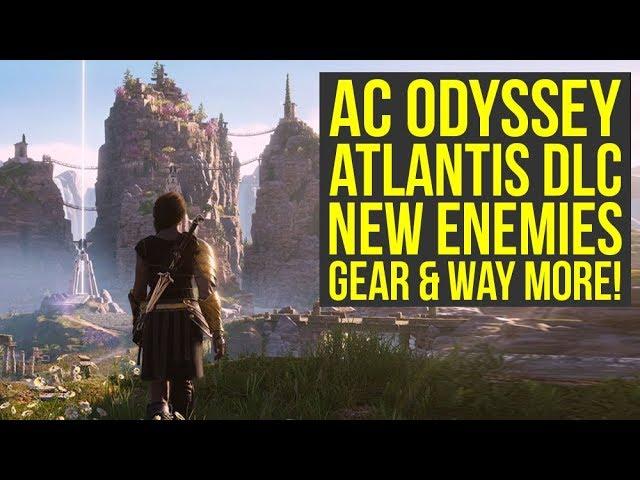 Assassin's Creed Odyssey Atlantis DLC - New ENHANCED Abilities, Gear