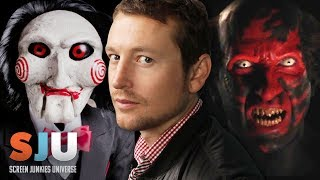 Scariest Horror Villains of All Time ft Insidious/SAW creator Leigh Whannell! - SJU