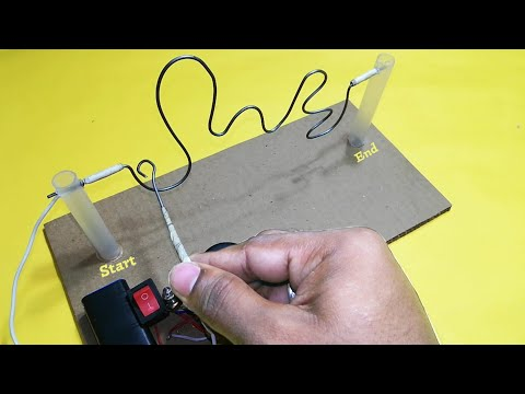 Awesome buzz wire game for kids at home