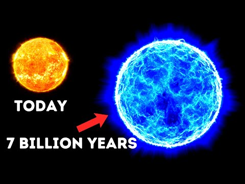 Our Sun in 7 Billion Years!
