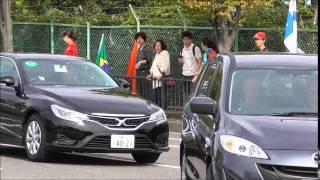 2014 F1 JapaneseGP Suzuka 日本GP ドライバー土曜出勤風景