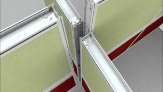Office Cubicles Installation Video by Cubicle Landscapes Emerald Series