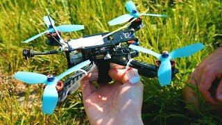 Gambar cover DRONE RACER #1   Mon premier Crash avec la GoPro Hero 7 😥
