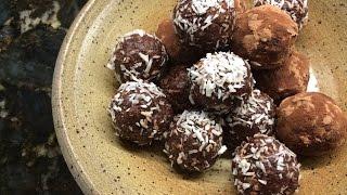 Rita on AZTV&#39s Sandy and Friends - Coconut Pecan Chocolate Truffles