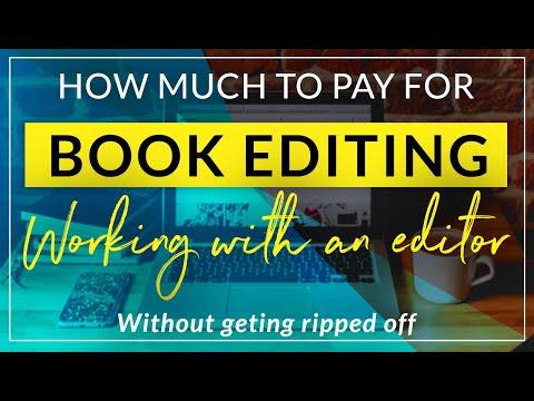 Developmental editing rates
