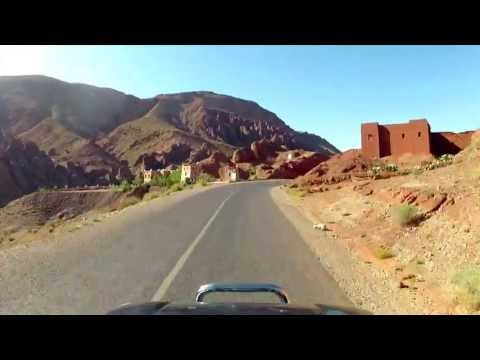 Driving the Atlas Mountains - Morocco - GoPro Time-lapse
