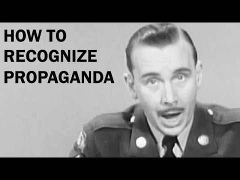 How to Recognize Propaganda | Cold War Era Educational Film | ca. 1957