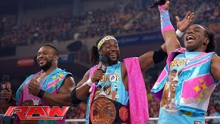 The New Day celebrate Raw's 1,200th episode: Raw, May 23, 2016