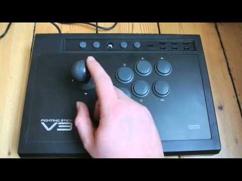 How to use hori fighting stick on pc