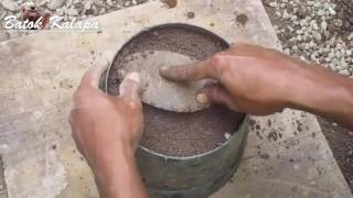 Cara Gampang Membuat POT Sederhana dari semen & pasir Eps #01