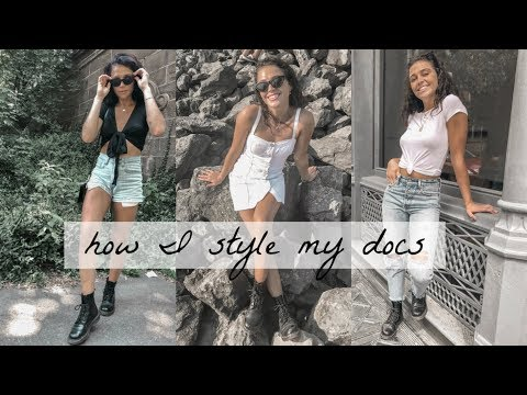 How I Style My Doc Martens