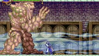 CASTLEVANIA ARIA OF SORROW - BOSS 5 BIG GOLEM