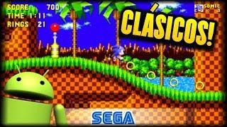 SONIC THE HEDGEHOG Y MAS CLASICOS DE SEGA GRATIS EN iOS y ANDROID - Sega Forever