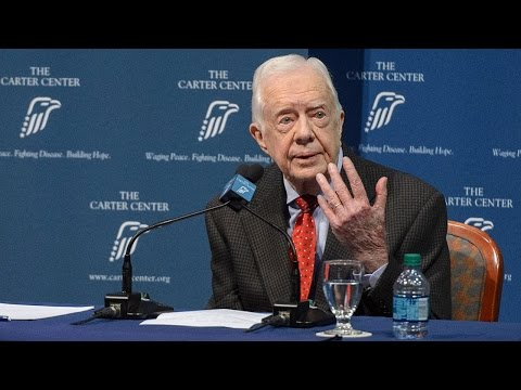 Former U.S. President Jimmy Carter Discusses Cancer Diagnosis – Full News Conference