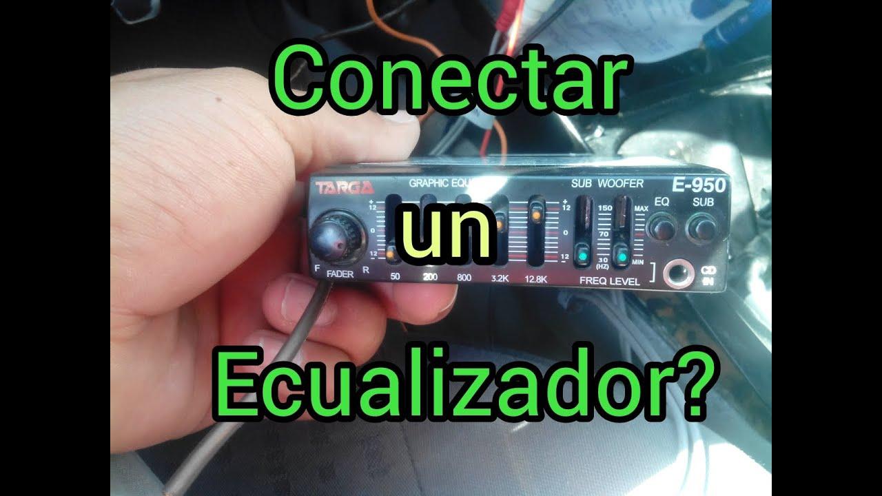 Como conectar un ecualizador en tu auto o en tu casa for Como instalar un estor plegable